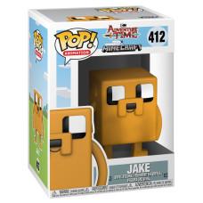 Фигурка Adventure Time x Minecraft - POP! Animation - Jake (9.5 см)