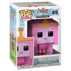 Фигурка Adventure Time x Minecraft - POP! Animation - Princess Bubblegum (9.5 см)