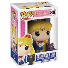 Фигурка Sailor Moon - POP! Animation - Sailor Moon & Luna (9.5 см)