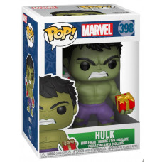 Головотряс Marvel: Holiday - POP! - Hulk (9.5 см)