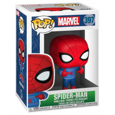 Головотряс Marvel: Holiday - POP! - Spider-Man (9.5 см)