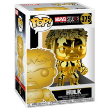 Головотряс Marvel Studios: The First Ten Years - POP! - Hulk (Gold Chrome) (9.5 см)
