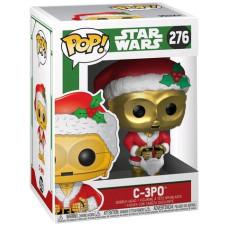 Головотряс Star Wars: Holiday - POP! - C-3PO (9.5 см)