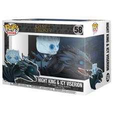 Фигурка Game of Thrones - POP Rides - Night King & Icy Viserion (Glow In the Dark) (9.5 см)