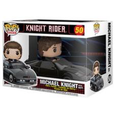 Фигурка Knight Rider - POP! Rides - Michael Knight with KITT (9.5 см)