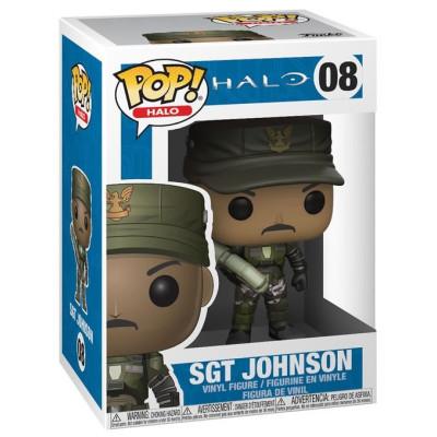 Фигурка Halo - POP! Halo - Sgt Johnson (9.5 см)