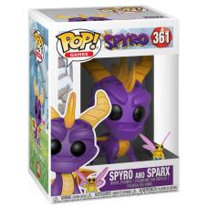 Фигурка Spyro - POP! Games - Spyro & Sparx (9.5 см)