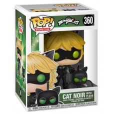 Фигурка Miraculous - POP! Animation - Cat Noir with Plagg (9.5 см)