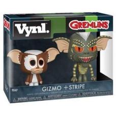 Набор фигурок Gremlins - Vynl - Gizmo + Stripe (9.5 см)