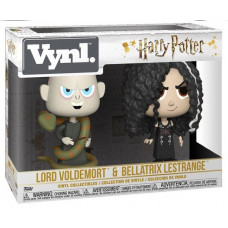 Набор фигурок Harry Potter - Vynl - Lord Voldemort & Bellatrix LeStrange (9.5 см)