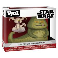 Набор фигурок Star Wars - Vynl - Jabba the Hutt + Salacious Crumb (9.5 см)
