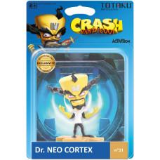Фигурка Crash Bandicoot - TOTAKU Collection - Dr Neo Cortex (10 см)