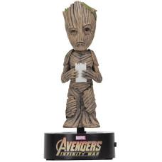 Телотряс Avengers: Infinity War - Groot (на солнечной батарее, 15 см)