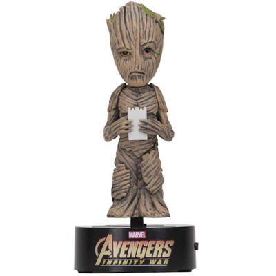 Фигурка NECA Телотряс Avengers: Infinity War - Groot (на солнечной батарее) (15 см)