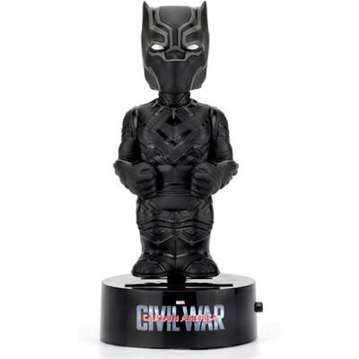 Фигурка NECA Телотряс Captain America: Civil War - Black Panther (на солнечной батарее) (15 см)