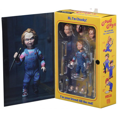 Фигурка Slasher Child's Play - Ultimate Action Figure - Chucky (10 см)