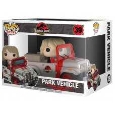 Фигурка Jurassic Park 25th Anniversary - POP! Rides - Park Vehicle (9.5 см)