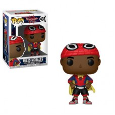 Головотряс Spider-Man: Into the Spider-Verse - POP! - Miles Morales (Cape) (9.5 см)