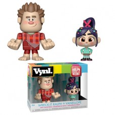 Набор фигурок Ralph Breaks the Internet - Vynl - Wreck-It Ralph + Vanellope (9.5 см)