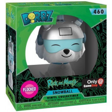 Фигурка Rick & Morty - Dorbz - Snowball Flocked (Exc) (7.6 см)