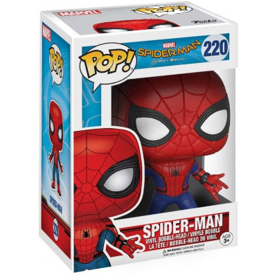 Головотряс Spider-Man: Homecoming - POP! - Spider-Man (9.5 см)