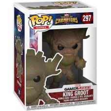 Фигурка Contest of Champions - POP! Games - King Groot (9.5 см)