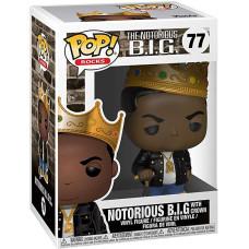 Фигурка The Notorious B.I.G - POP! Rocks - Notorious B.I.G with Crown (9.5 см)