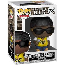 Фигурка The Notorious B.I.G - POP! Rocks - Notorious B.I.G with Jersey (9.5 см)