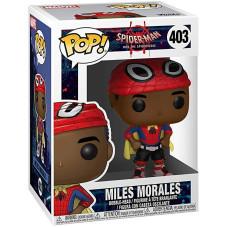 Головотряс Spider-Man: Into the Spider-Verse - POP! - Miles Morales (Cape) (9.5 см)