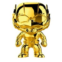 Головотряс Marvel Studios: The First Ten Years - POP! - Ant-Man (Gold Chrome) (9.5 см)