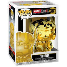 Головотряс Marvel Studios: The First Ten Years - POP! - Thor (Gold Chrome) (9.5 см)