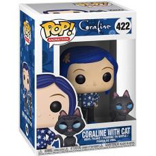 Фигурка Coraline - POP! Animation - Coraline with Cat (9.5 см)