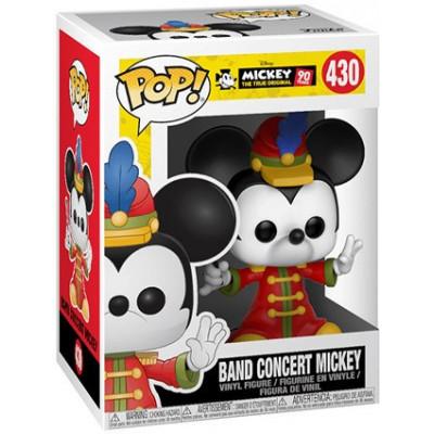Фигурка Funko Mickey: The True Original (90 Years) - POP! - Band Concert Mickey 32190 (9.5 см)