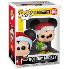 Фигурка Mickey: The True Original (90 Years) - POP! - Holiday Mickey (9.5 см)