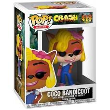 Фигурка Crash Bandicoot - POP! Games - Coco Bandicoot (9.5 см)