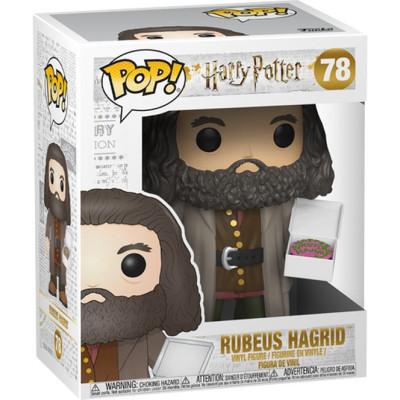 Фигурка Harry Potter - POP! - Rubeus Hagrid (with Cake) (15 см)