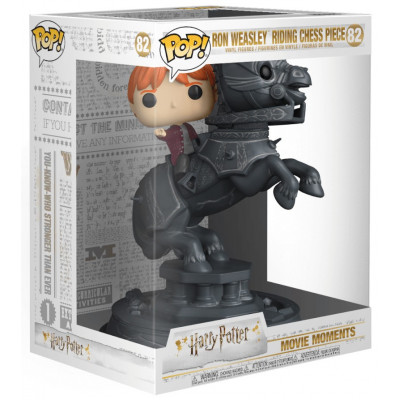 Фигурка Funko Harry Potter - POP! Movie Moment - Ron Weasley Riding Chess Piece 35518 (21.5 см)