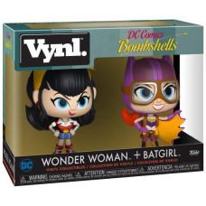 Набор фигурок DC Bombshells - Vynl - Wonder Woman + Batgirl (9.5 см)