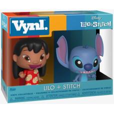 Набор фигурок Lilo & Stitch - Vinyl Collectibles - Lilo + Stitch (9.5 см)