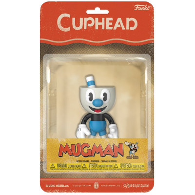 Фигурка Cuphead - Action Figure - Mugman (13 см)