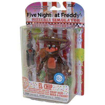 Фигурка Five Nights at Freddy's: Pizzeria Simulator - Action Figure - El Chip (13 см)