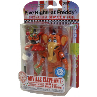 Фигурка Five Nights at Freddy's: Pizzeria Simulator - Action Figure - Orville Elephant (13 см)
