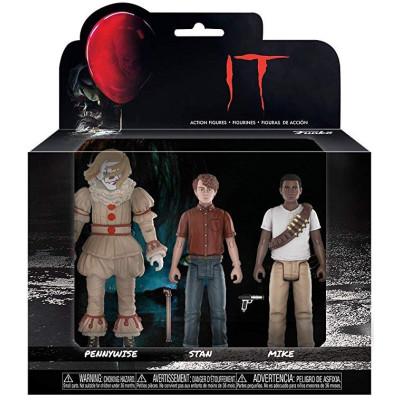 Набор фигурок IT - Action Figure - Pennywise / Stan / Mike (9.5 см)