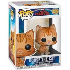Головотряс Captain Marvel - POP! - Goose the Cat (9.5 см)