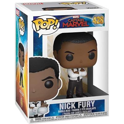 Фигурка Funko Головотряс Captain Marvel - POP! - Nick Fury 36351 (9.5 см)