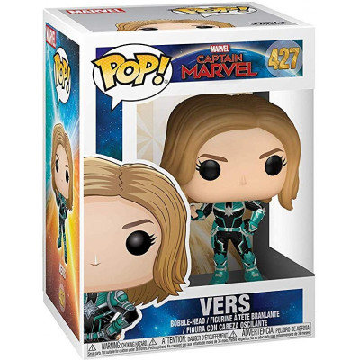 Фигурка Funko Головотряс Captain Marvel - POP! - Vers 36342 (9.5 см)