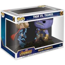 Набор фигурок Avengers: Infinity War - POP! Movie Moments - Thor vs Thanos (9.5 см)