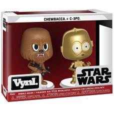 Набор головотрясов Star Wars - Vynl - Chewbacca + C-3PO (9.5 см)