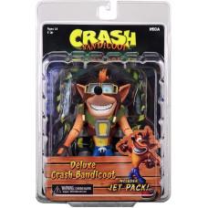 Фигурка Crash Bandicoot - Deluxe - Crash Bandicoot with Jet Pack (17 см)
