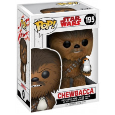 Головотряс Star Wars: Episode VIII The Last Jedi - POP! - Chewbacca (with Porg) (9.5 см)